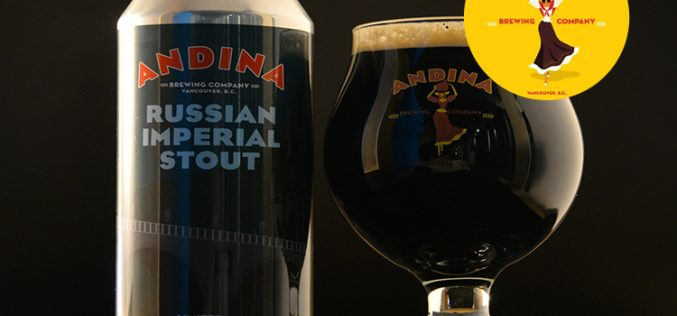 Andina Brewing's Exclusive Limited Release of MONARCA – Russian Imperial Stout 🏰