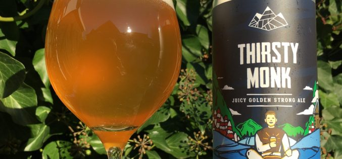 Mount Arrowsmith Brewing- Thirsty Monk Golden Strong Ale