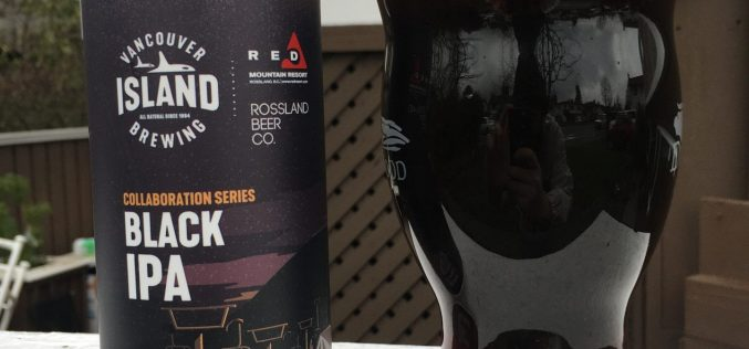 Vancouver Island Brewery and Rossland Beer Company- Black IPA