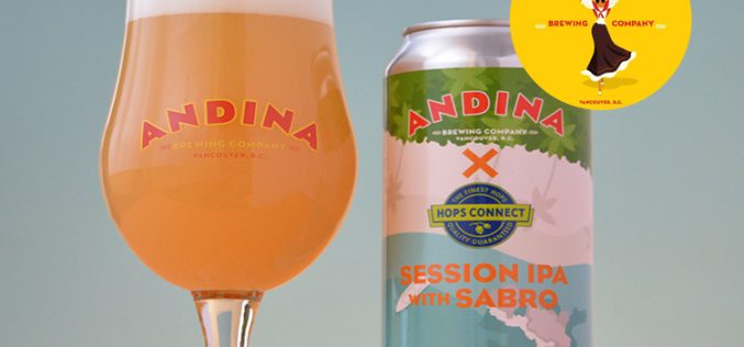 Andina Brewing Releases CARRETA Session IPA  🌿 Collaboration with Hops Connect