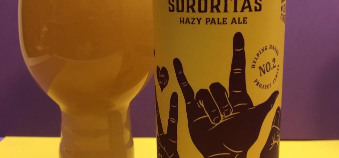 Sororitas Hazy Pale Ale – Strange Fellows Brewing