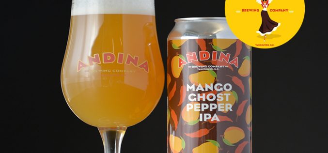 Andina Brewing Releases EXTRAÑA  – Mango Ghost Pepper IPA 🌶🌶🌶