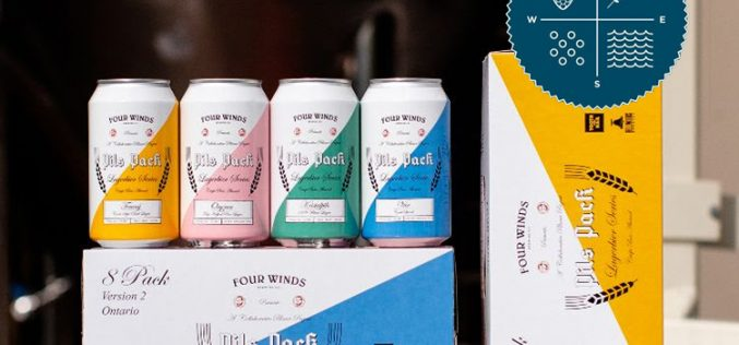 Four Winds Releases Pils Pack 2021 – BC/Ontario Collaborative
