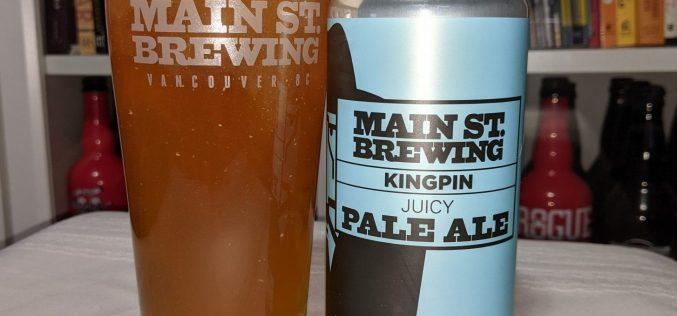 Main Street Brewing – Kingpin Juicy Pale Ale