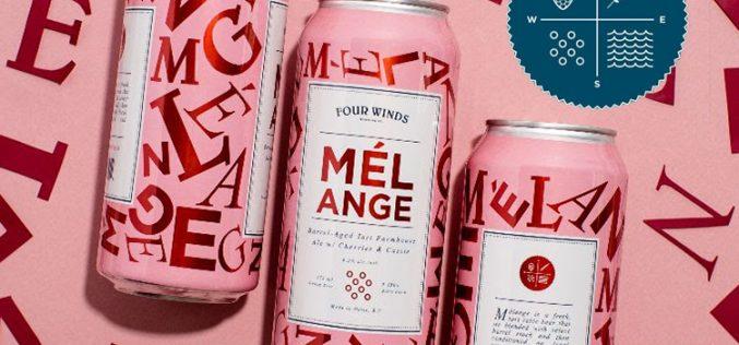 Four Winds Releases Mélange (2021) Barrel-Aged Farmhouse Ale w/ Cherries & Cassis