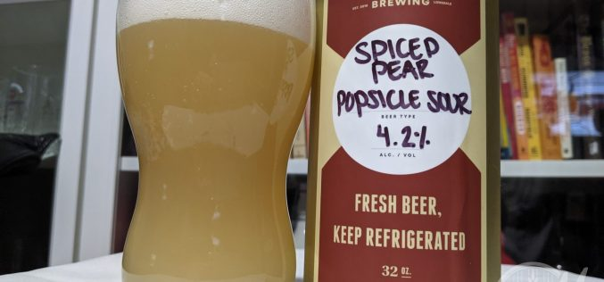 Streetcar Brewing – Spiced Pear Popsicle Sour