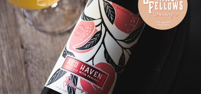 Strange Fellows Brewing Releases RED HAVEN Wild Ale with Peaches