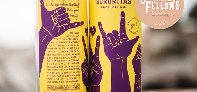 Strange Fellows Brewing Releasing Sororitas Hazy Pale Ale
