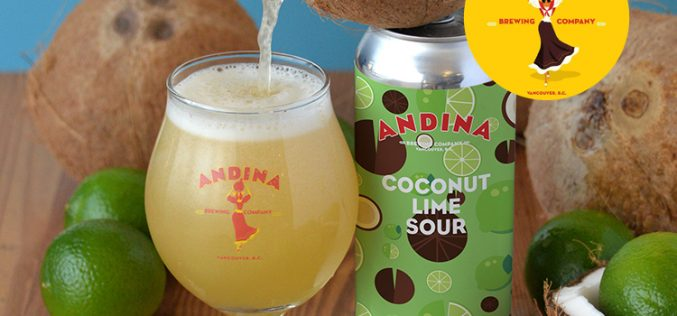 Andina Brewing Releases COCADA – Coconut  🥥  Lime Sour & New Patio Open Now