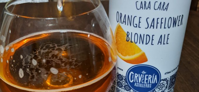 La Cerveceria Astilleros – Cara Cara Orange Safflower Blonde Ale