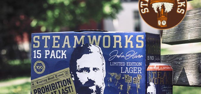 Celebrating BC One Beer at a Time: Steamworks Brewing Honours John Oliver
