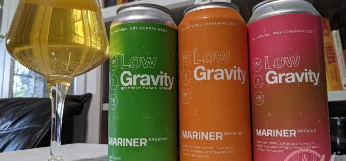 Mariner Brewing – Low Gravity Series