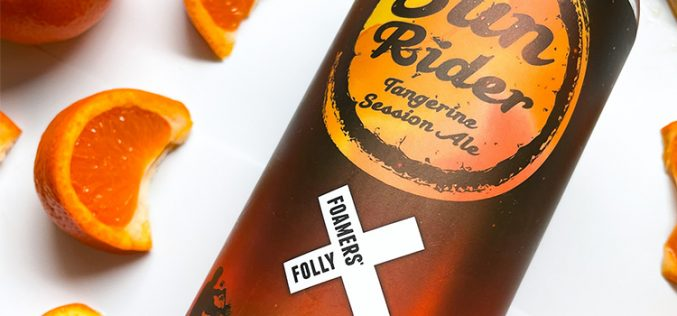 Foamers' Folly Brewing Releases Sun Rider Tangerine Session Ale