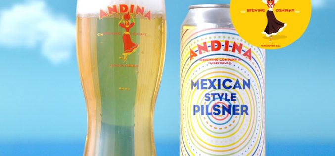 Andina Brewing Releases Cerveza – 🇲🇽 Mexican Style Pilsner 🎉