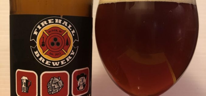 Firehall Brewery- Stop, Hop & Roll Oatmeal IPA
