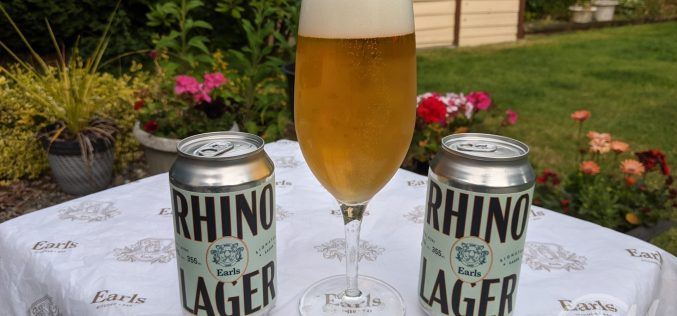 Parallel 49 Brewing : Earls Rhino Lager