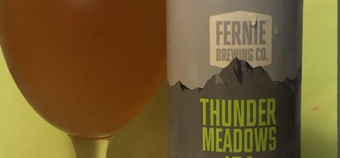 Fernie Brewing Co – Thunder Meadows IPA