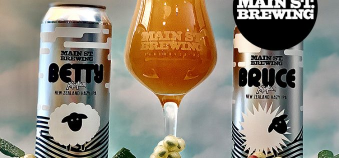 🍻 Not One but TWO New Hazy IPA Brews from Main St. Brewing! 🍻