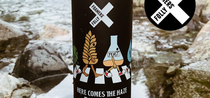 Foamers' Folly Releases Here Comes the Haze Pale Ale