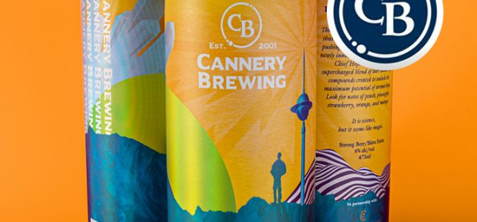Cannery Brewing Releases It's My Hop Party and I'll Cryo If I Want To