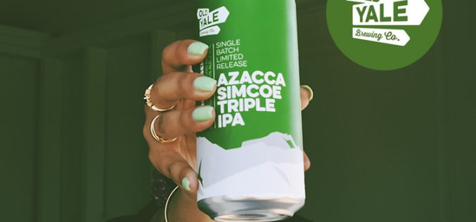 Old Yale Brewing Releases Azacca Simcoe Triple IPA