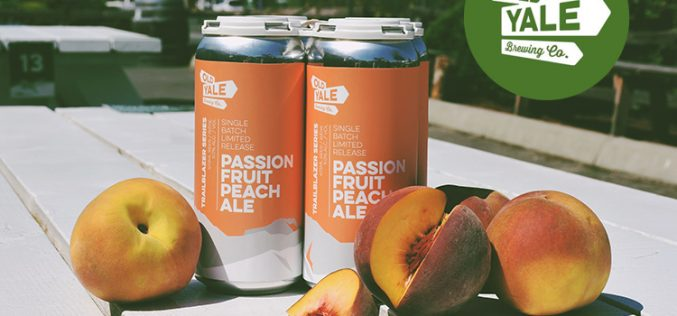 Old Yale Brewing Releases Passion Fruit Peach Ale for Jak's Liquor Stores