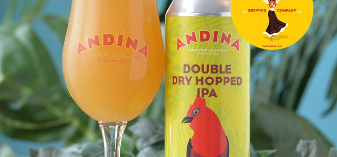 Andina Brewing Releases Añoro Double Dry Hopped IPA