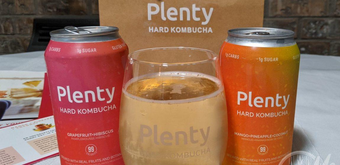 Plenty Hard Kombucha: Two Flavours