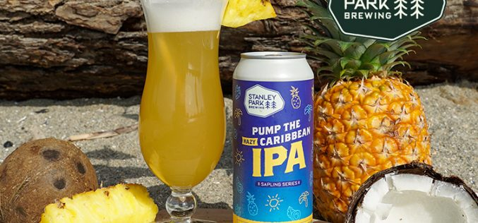 Stanley Park Brewing Releases Pump The Caribbean Hazy IPA