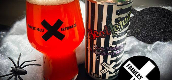 Foamers' Folly Brewing Releases Beetlejuice Sour Ale