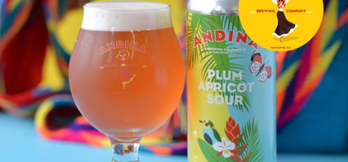 Andina Brewing Releases Ciruelo – Plum 🍑 Apricot Sour