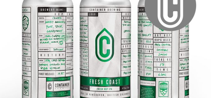 Container Brewing Releases Their FIRST EVER Fresh Hop IPA